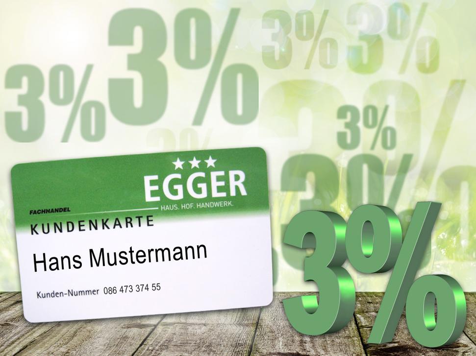 Egger Kundenkarte